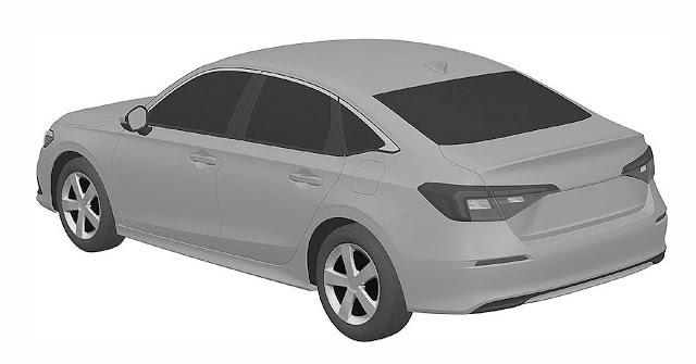 Novo Honda Civic 2022: design interno e externo revelado