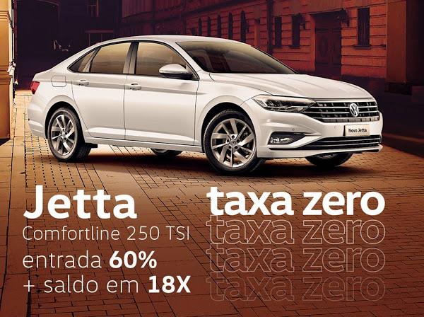 VW Jetta 2020 Comfortline tem taxa zero em janeiro